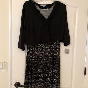 New sleeveless dress with jacket
